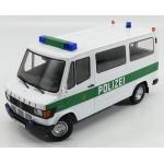 1988 MERCEDES BENZ 208D MINIBUS HAMBURG POLICE