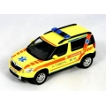 Pilsen Emergency Medical Rescue Service Skoda Yeti