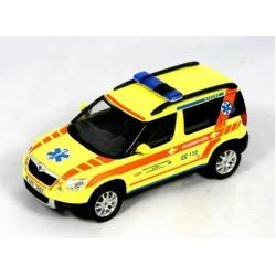 Pilsen Emergency Medical Rescue Service Skoda Yeti