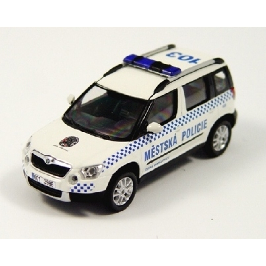 Bud jovice city policie skoda yeti for Garage skoda 92