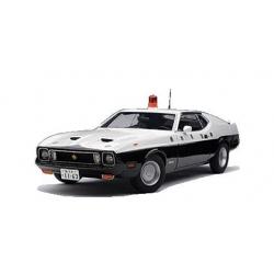 Japanese Police Mustang
