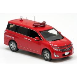 Tokyo Fire Department Nissan Elgrand Command car