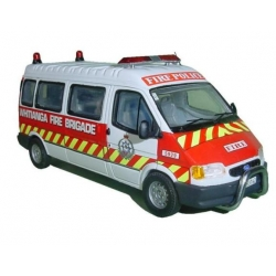 Whitianga Fire Police Ford Transit