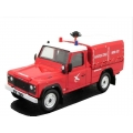 French Civil Aviation Landrover Fire