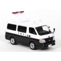 Tokyo Metropolitan Police Nissan Caravan Emergency signage vehicle
