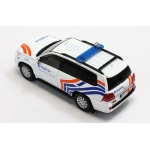 Belgium Federal Police Toyota Landcruiser