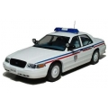 Montpellier Municipal Police Ford Crown Victoria