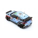 Hyundai i20 WRC #20 Paddon/Kennard