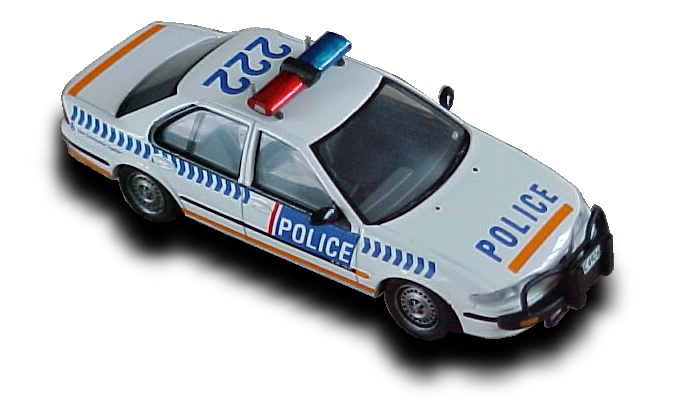 New Zealand Police FORD FALCON EF Motorway Patrol Car