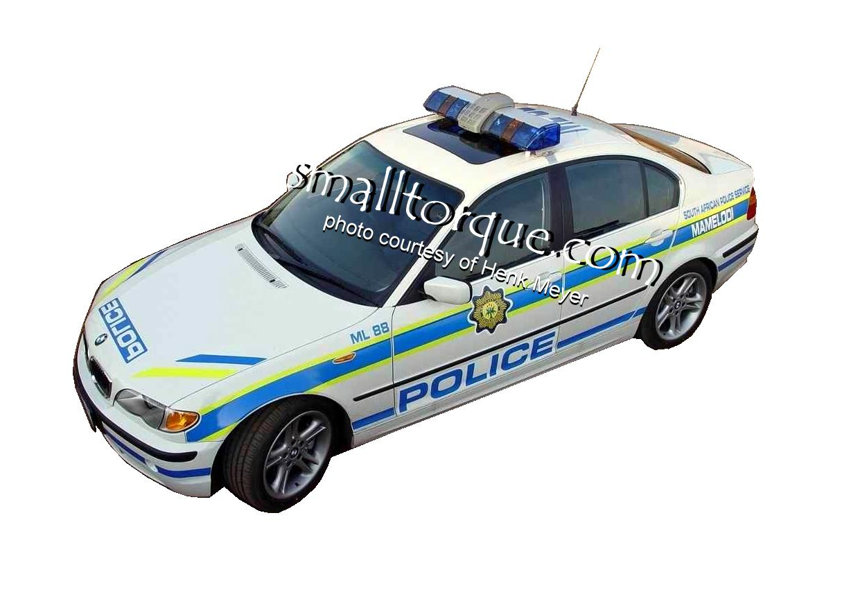 South African Police Service BMW