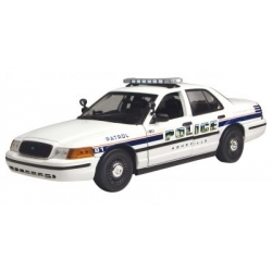 Asheville Police Ford Crown Vic
