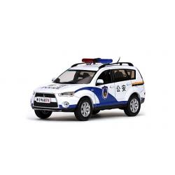 Chinese Police Mitsubishi Outlander