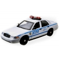 NYPD Ford Crown Victoria Interceptor (working lights and sound)