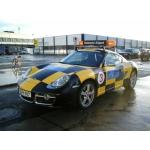 """Hanover Airport """"Follow Me"""" Porsche"""