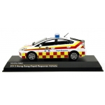 Hong Kong Ambulance Service Toyota Prius