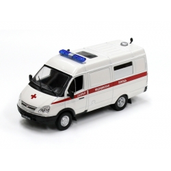 Russian GAZ 32214 Gazel Ambulance медпомощь